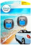 Car Air Freshener Febreze Economy Twin Pack Morning Dew Clip-on Car Vent Air Freshener