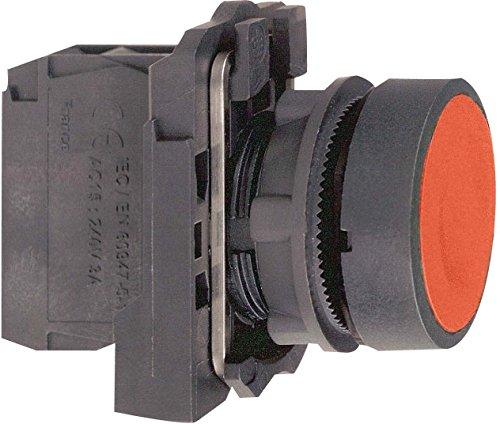 Schneider Electric XB5AA42Druckschalter Level voll, Rückkehr Feder, rot ohne Branding, 1NC, 22mm (Kontakt Objektiv Rot)