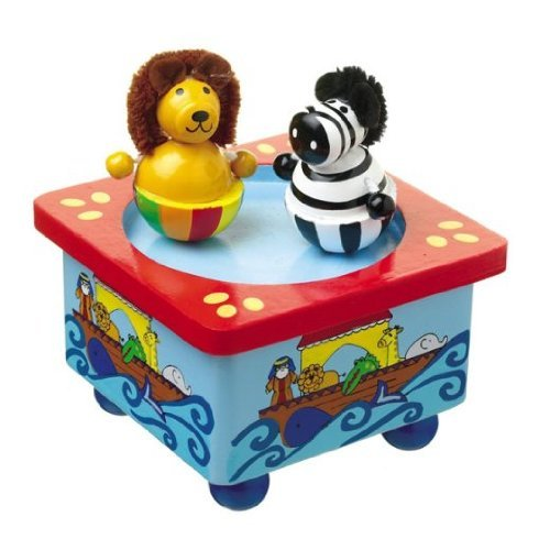 Orange Tree Toys Music Box Noah's Ark Orange Music Box