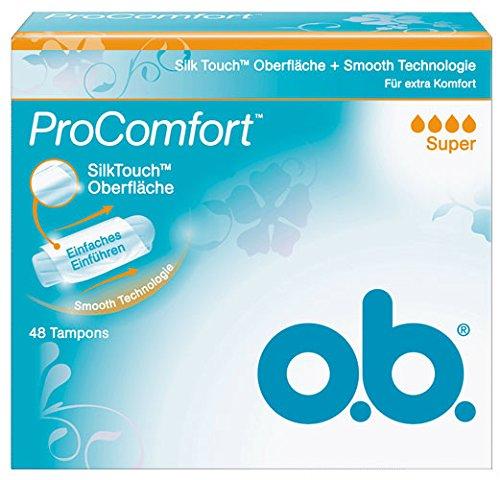 Preisvergleich Produktbild o.b. Pro Comfort Super Tampons - 48St. - 4x