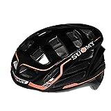 SUOMY GUNWIND - Casco para Bici, Multicolor (Black/Red), M (54-58)