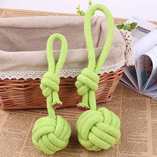 GUODOGUUP Spielzeug Für Haustiere Neue Candy Farbe Haustier Baumwollseil Spielzeug, Hunde Molaren Zahnreinigung Für Kleine Mittelgroße Hund Hundespielzeug