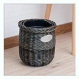 WYZ Haus & Küche Mülleimer Möbelzubehör Mülleimer - Schlafzimmer, Küche, Bad oder Büro Vorbereitung Papierkorb (Farbe : C)