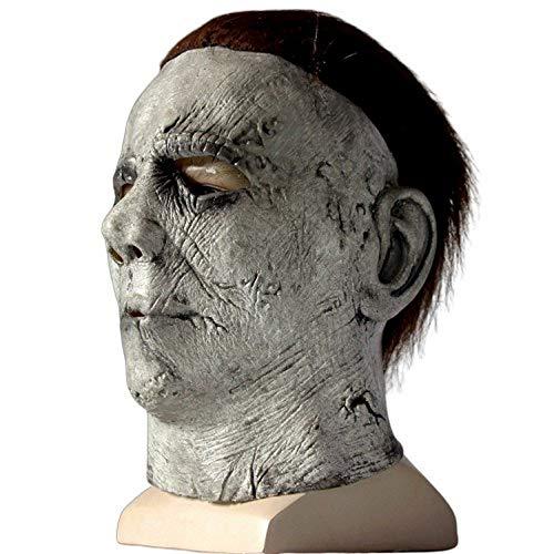 Spiel Kostüm Charaktere - YEARYOWN Maske Halloween Cosplay Horror Vollgesichtsmaske Horrorfilm Charakter Erwachsene Rolle Spielen Kostüm Stütze Spielzeug