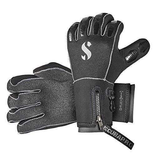 SCUBAPRO G-Flex 5mm Tauchhandschuh *Halbtrocken*, Größe:XS