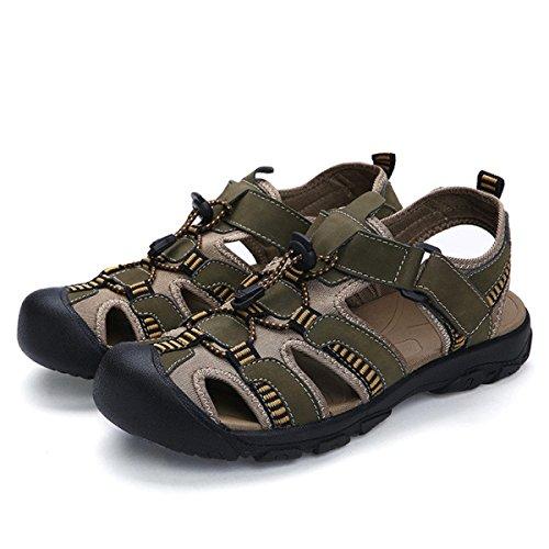 Sandales échassiers En Plein Air Chaussures De Plage Pour Hommes Multicolore Multi-taille Green