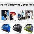 Topnaca Unisex Thermal Skull Caps Helm Liner Radfahren Caps Laufmütze, Covers Ohren Dochte Feuchtigkeit Moisture Breathable, für Motorrad Snowboard Wandern Klettern Fußball Outdoor-Aktivitäten
