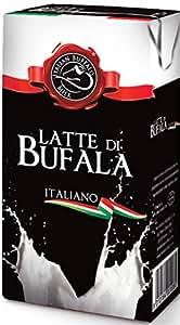 Latte di Bufala Italiano (Italian Buffalo Milk) - Confezione da 20 Brick di 500ml (10 litri)