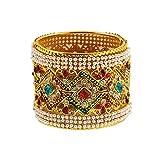 Zeneme Designer American Diamond Gold Pl...
