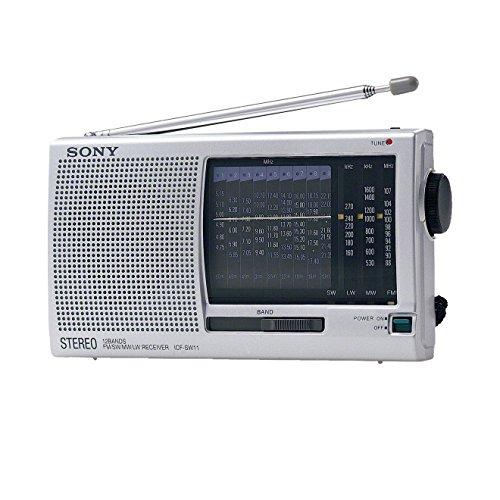 Sony ICF-SW 11/S Weltempfänger silber