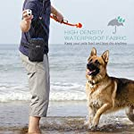 ORIA Dog Treats Bag, Dog Treat Training Pouch with Poop Waste Bag Dispenser, Training Clicker and Collapsible Travel Pet… 13
