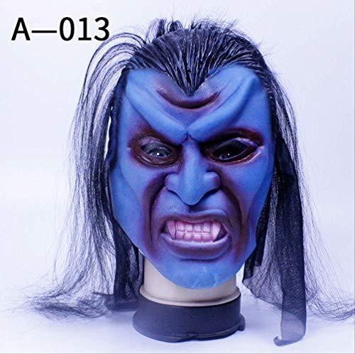 Kostüm Dj Dead - Walking Dead Full Head Maske, Resident Evil Monster Maske, Zombie Kostüm Party Gummi-Maske Für Halloween