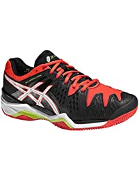 Asics - Gel Resolution 6 Clay, color negro, talla UK-8.5