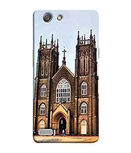 PrintVisa Designer Back Case Cover for Oppo Neo 7 :: Oppo A33 (Unique Design Of Famous Church)