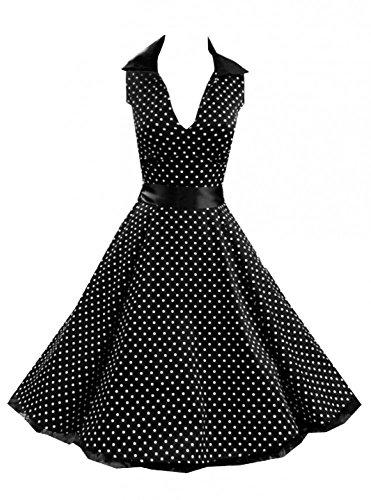 Rockabilly-Kleid INKLUSIVE PETTICOAT - Sophia, Größe:DE 42/44 UK 20 (Sophias Stil Kleid)