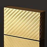 Wasserdicht Neue Luxus-24K Goldfolie Poker 54 Spielkarten Casino Tabelle Spiel Plaid