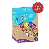 #4: Yogabars Almond Millet Superfood Bars - Variety Pack (6 bars * 38 gms)