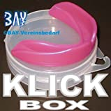 BAY® Klick Zahnschutz SR pink/rosa