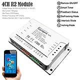 sonoff 4 CH R2 4 velocidades Smart Interruptor Home App controlador, WiFi 2.4...