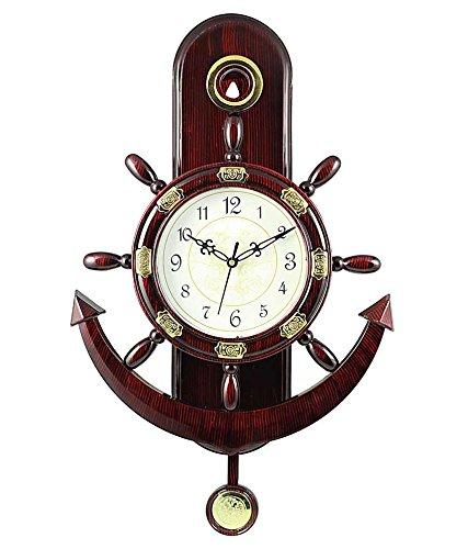 Altra Plastic Pendulum Wall Clock (45 cm x 30 cm...