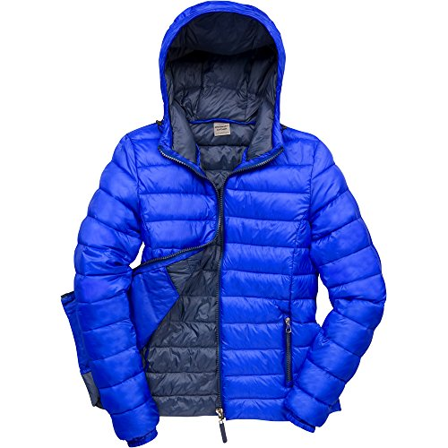 Result Urban Outdoor Ladies Urban Snowbird Hooded Coat Royal/ Navy