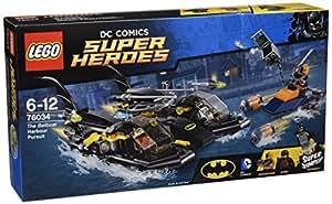 LEGO Super Heroes 76034 - The Batboat Harbor Pursuit