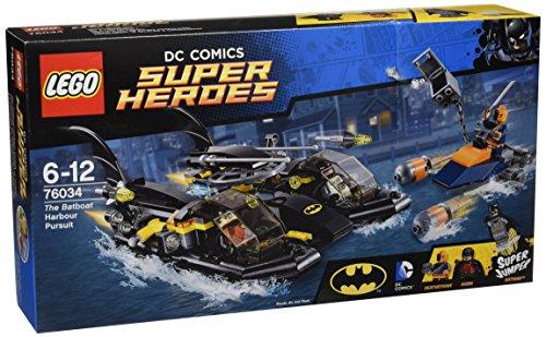 Preisvergleich Produktbild LEGO DC Super Heroes 76034 - Batboat-Verfolgungsjagd im Hafen