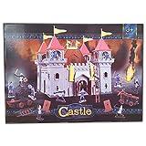 MediEval Castle Kinder Ritterburg Burg inkl 12 Ritter Figuren 2 Katapulte + Zubehör