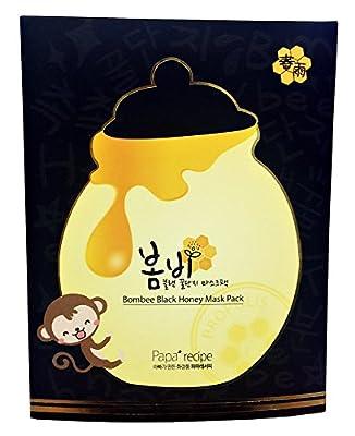 Papa Recipe Bombee Black Honey Masks Face Pores Skincare 10 Sheets Pack from Papa Recipe