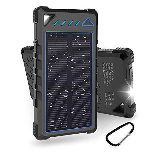 Radio Solare di Emergenza Radio Solare a Carica Manuale Esky con Radio AM//FM // NOAA Torcia elettrica 3W Allarme SOS per Varie situazioni di Emergenza Batteria Ricaricabile 2000mAh