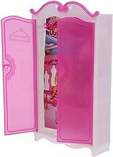Fenteer Puppenhaus Miniatur Kunststoff Möbel Schaukel / Kleiderschrank Modell, Kinder Rollenspielzeug - Kleiderschrank -2