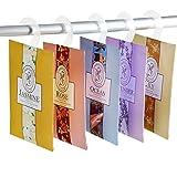BESTOOL Tragbar Kleidung Duftende Duftsäckchen Taschen Set mit Kleiderbügel Geeignet für Closet Zimmer Kleiderschrank Badezimmer Cars Wäschekorb 5 Packungen