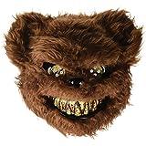 Rubie's - Mascara oso loco sangriento, talla única (S5143)