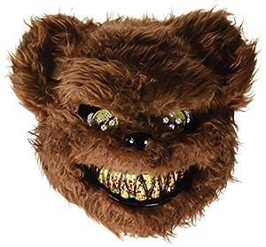 Rubies- Mascara oso loco sangriento, talla única (Rubie