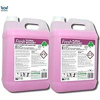 Limpiador y desinfectante diario de ramo de flores frescas ~ 2 x 5 litros