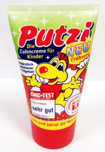 Dental - Kosmetik GmbH & Co.KG Putzi Erdbeere Zahncreme für Kinder 50ml