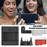 Kit d'extension de Poche d'origine Osmo, Module de Commande de Roue sans Fil Portable et Manette Polyvalente pour Montage d'accessoires pour DJI OSMO Accessoires de Support pour Support de Poche
