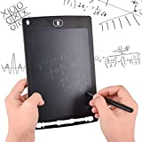 """Teconica 15R 8.5"""" E-Writer LCD Writing Pad Paperless Memo Digital Tablet/Notepad/Stylus Drawing for Erase Button & Pen to Write (Random Colour)"""