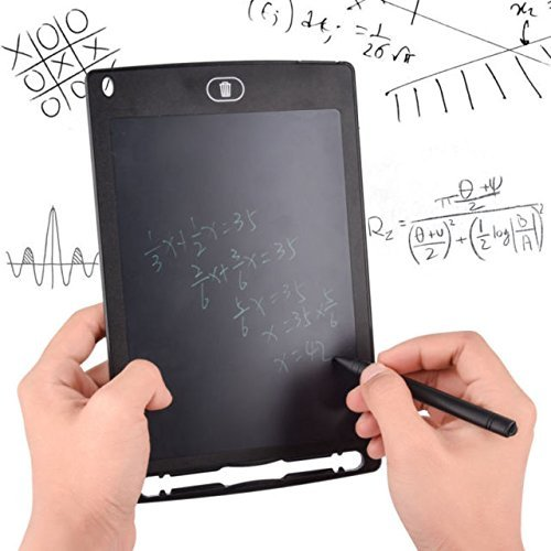 CloudNet India 8.5 inch LCD E-Writer Electronic Writing Pad/Tablet Drawing Board/Portable Erasable Ewriter/Digital Handwriting Pad Board for School,Office Multicolour (Paperless Memo Digital Tablet)