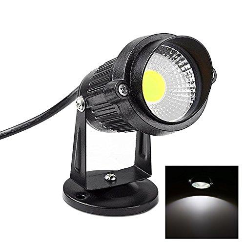 Focos Proyector LED Exterior Jardín 3W/5W 220V (BLANCO Frio)