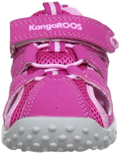 Kangaroos Rock, Sandales bébé fille Rose (Lillipilli/Begonia 660)