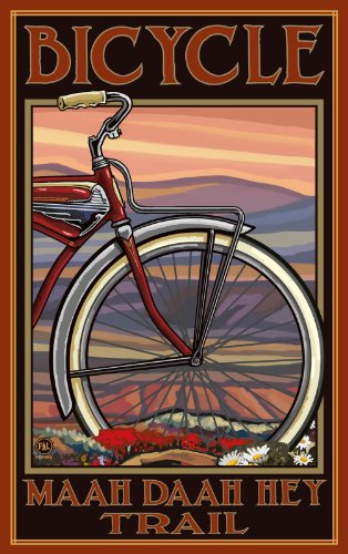 northwest-art-mall-bicycle-maah-daah-hey-trail-north-dakota-wall-art-by-paul-a-lanquist-11-inch-by-1