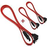 coween SATA Cable Red 3pcs rojo rojo
