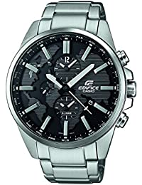 Casio Edifice Herrenuhr Analog Quarz mit Edelstahlarmband – ETD-300D-1AVUEF