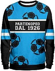 Partenopeo Sudadera Hombre–Napoli Urban Mentality Sweatshirt Man–SSC Napoli 1926de fútbol camiseta