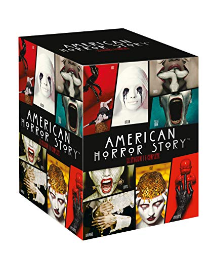 American Horror Story 1-8  (29 DVD)