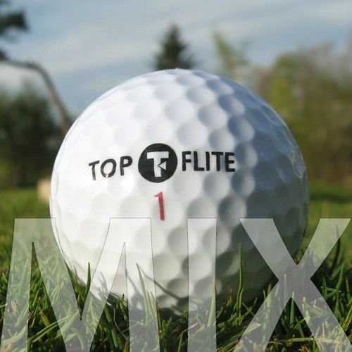 25 Top-Flite Mix Lake Balls/Balles de golf – QUALITÉ AAAA/AAA