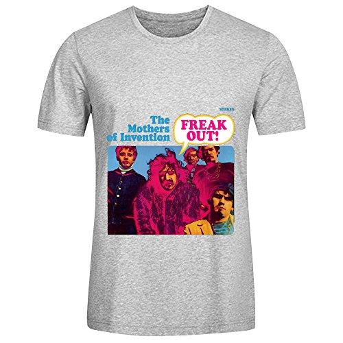 Las Madres de invención Freak out Banda Sonora Hombres Cuello Redondo Graphic T Shirt