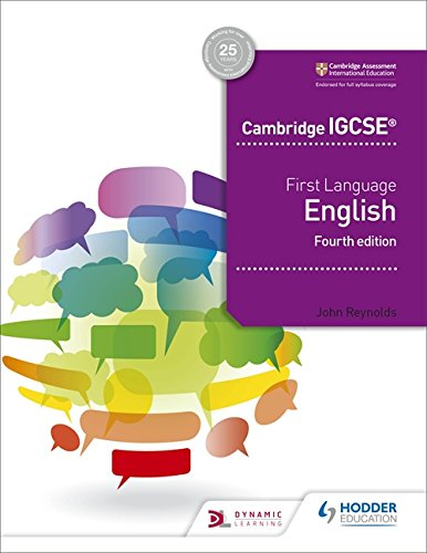 Cambridge IGCSE First Language English 4th edition Cover Image
