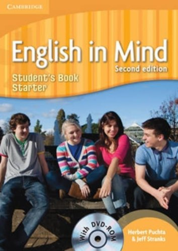 English in Mind 2nd Starter  Student's Book with DVD-ROM (English in Mind Starter) - 9780521185370